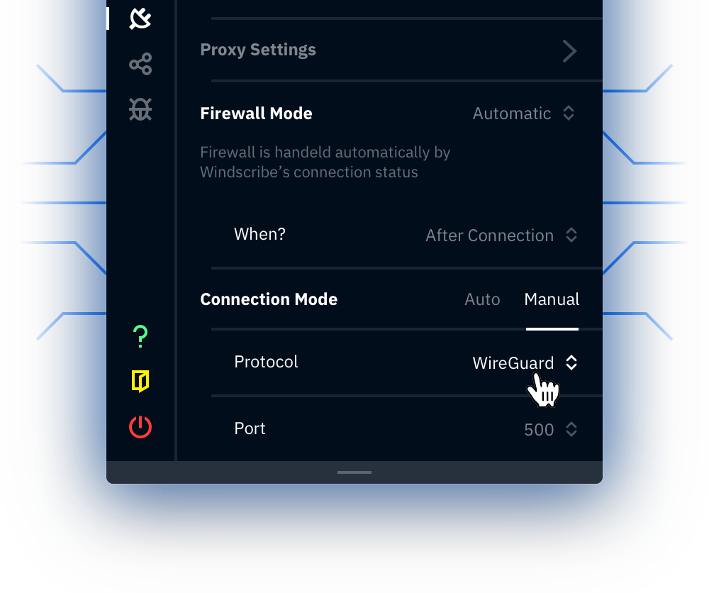 Windscribe Connection Mode